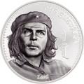 Монголия 1000 тугреков 2018 Че Гевара (Mongolia 1000T 2018 Che Guevara 1 oz Silver Coin).Арт.67