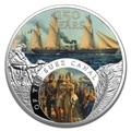 Ниуэ 1 доллар 2019 Суэцкий Канал 150 лет Корабль (Niue 1$ 2019 150th Anniversary of The Suez Canal Proof Silver Coin).Арт.65