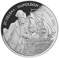 Остров Святой Елены и Вознесения 50 фунтов 1986 Наполеон Корабль (St. Helena Ascension 50 pounds 1986 165th Anniversary of Napoleon's Death).Арт.65