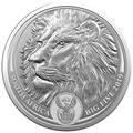 Южная Африка 5 рандов 2019 Лев Большая Африканская Пятерка (South Africa 5R 2019 Lion Big Five 1oz Silver Coin) Блистер.Арт.65