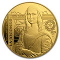 Франция 50 евро 2019 Мона Лиза Леонардо Да Винчи серия Музеи Франции (2019 France 50E Monna Lisa Gold Coin).Арт.75