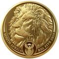 Южная Африка 50 рандов 2019 Лев Большая Африканская Пятерка (South Africa 50 Rand 2019 Lion Big Five 1 oz Gold Coin).Арт.65