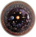 Палау 20 долларов 2019 Вселенная Космос Последний Рубеж (Palau 20$ 2019 Universe Space Final Frontier 3 Oz Silver Coin).Арт.65