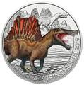 Австрия 3 евро 2019 Спинозавр серия Суперзавры (Supersaurs The Spinosaurus Austria 3 euro 2019).Арт.65