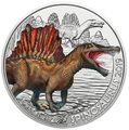 Австрия 3 евро 2019 Спинозавр серия Суперзавры (Supersaurs The Spinosaurus Austria 3 euro 2019).Арт.65