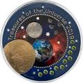Гана 5 седи 2019 Сокровища Вселенной III Юпитер Космос (Ghana 2019 5 cedis Treasures of the Universe III Coin 1oz Silver).Арт.65