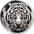Камерун 1000 франков 2019 Тигр Бриллиант (Cameroon 1000 Francs 2019 Diamond Black Panther 1Oz Silver Coin).Арт.65