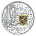 Австрия 10 евро 2019 Благородство серия Рыцарские Истории (Austria 10E 2019 Chivalry Knights' Tales Silver Coin).Арт.65