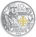 Австрия 10 евро 2019 Приключение серия Рыцарские Истории (Austria 10E 2019 Adventure Knights' Tales Silver Coin).Арт.65