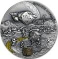 Ниуэ 1 доллар 2019 Космическая Добывающая Станция II Метеорит (Niue 1$ 2019 Space Mining Station II 1Oz Silver Coin).Арт.000712957851/65