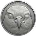 Ниуэ 1 доллар 2019 Сокол Сапсан Животные Чемпионы (Niue 1$ 2019 Peregrine Falcon Animal Champions 1 oz Silver Coin) Буклет.Арт.67