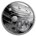 Ниуэ 1 доллар 2019 Солнечная Система Луна (Niue 1$ 2019 Solar System Moon 1Oz Silver Coin).Арт.CZ/67