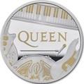Великобритания 2 фунта 2020 Куин Легенды Музыки (GB 2£ 2020 Queen Music Legends 1oz Silver Proof Coin).Арт.92