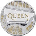 Великобритания 2 фунта 2020 Куин Легенды Музыки (GB 2£ 2020 Queen Music Legends 1oz Silver Proof Coin).Арт.92E