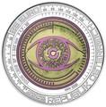 Австрия 25 евро 2020 Большие Данные (Austria 25 euro 2020 Big Data Silver Niobium Coin).Арт.65