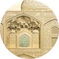 Палау 500 долларов 2020 Пло́щадь На́кш-э Джаха́н в Исфахане серия Тиффани (Palau 500$ 2020 Naghsh-e Jahan Square in Isfahan Tiffany Art 5oz Gold Coin).Арт.65