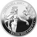 Германия 5 марок 2020 Германия Орел (Germania 5 Mark 2020 Gemania 1oz Silver Coin).Арт.75