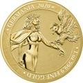 Германия 100 марок 2020 Германия Орел (Germania 100 Mark 2020 Gemania 1oz Gold Coin BU).Арт.27022019001500E/75