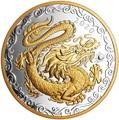 Канада 125 долларов 2020 Счастливый Дракон (Canada 125$ 2020 Lucky Dragon 0,5 Kilogram Silver Coin).Арт.88