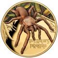 Ниуэ 100 долларов 2020 Тарантул Паук серия Смертельно Опасные (Niue 2020 $100 Tarantula Deadly and Dangerous 1oz Gold Proof Coin)Арт.88