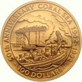 Соломоновы острова 100 долларов 1992 Битва в Коралловом Море (Solomon Isl 100$ 1992 50th Anniversary of the Battle of the Coral Sea 1oz Gold Coin).Арт.K1,8G/92