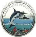 Палау 20 долларов 2000 Рыба Меч Защита Морской Жизни (Palau 2000 $20 Swordfish Marine Life Protection 5Oz Silver Coin).Арт.92
