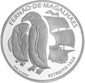 Португалия 7,5 евро 2020 Магелланов Пролив Пингвины Корабль ( Portugal 7,5 Euro 2020 The Passage of the Strait 1520 Silver Coin ).Арт.92