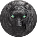 Палау 50 долларов 2021 Черная Пантера Килограмм ( Palau 50$ 2021 Black Panther Hunters by Night Kilo Silver Coin ).Арт.92