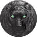 Палау 50 долларов 2021 Черная Пантера Килограмм ( Palau 50$ 2021 Black Panther Hunters by Night Kilo Silver Coin ).Арт.92