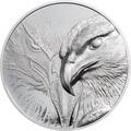 Монголия 500 тугриков 2020 Величественный Орел ( Mogolia 500T 2020 Majestic Eagle 1oz Silver Coin ).Арт.92