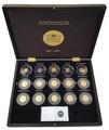 Франция 50 евро 2011-2015 Короли и Президенты Набор 15 Золотых Монет ( France 50 Euro 2011-2015 From Clovis to the Republic 15 Coins Set Gold ).Арт.92