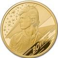 Великобритания 100 фунтов 2020 Дэвид Боуи Легенды Музыки ( GB 100£ 2020 David Bowie Music Legends 1oz Gold Proof Coin ).Арт.92E