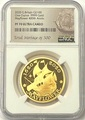 Великобритания 100 фунтов 2020 Мэйфлауэр Корабль Слаб ( GB 100£ 2020 Mayflower 1oz Gold Proof Coin NGC PR70 UC ).Арт.92E