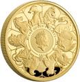 Великобритания 100 фунтов 2021 Звери Королевы (GB 100£ 2021 Queen's Beast 1oz Gold Proof Coin).Арт.92