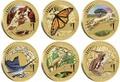 Австралия 1$ 2012 Животные Атлеты Набор 6 Монет (Australia 2012 1$ Animal Athletes Young Collectors Coin Collection).Арт.92