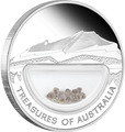 """""""Сокровища Австралии""""(с инкапсулированными алмазами)"""