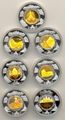 Камбоджа 7х1000 риелей 2001/2009.Новые чудеса света (голограмма).Арт.005682541100/60My