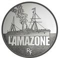 Франция 10 евро 2013. «Пароход - Амазонка» серия «Великие корабли Франции»Арт.000154144840