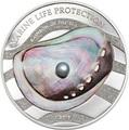 Палау 5 долларов 2015.Жемчужина -  Радуга моря серия Защита морской жизни.Арт.0005200150245/60