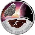 Фиджи 10 долларов 2013.Метеорит – Бьюрбол (BJURBOLE) серия Метеориты и Кометы.