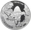 Мали 1000 франков 2015.Динозавр – Спинозавр (Proof).Арт.60