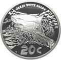 Южная Африка 20 центов 2016.Большая Белая Акула серия Охрана морских территорий.Арт.60