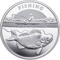Ниуэ 1 доллар 2014.Рыбалка.Арт.60