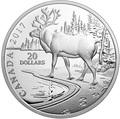 Канада 20 долларов 2017.Лесной Олень.Арт.60