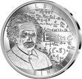 Бельгия 10 евро 2016.Альберт Эйнштейн - 100-летие Общей теории относительности.Арт.60