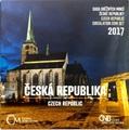 Чехия 88 чешских крон 2017.Официальный годовой набор монет с жетоном.Арт.60